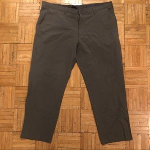 GapFit hybrid performance gray khakis